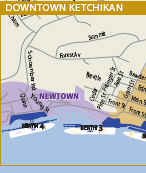 Click here to see the City Map of Ketchikan