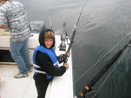 Halibut Fishing Tips are easy enough a kid can do it!