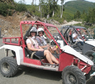Adventure Kart Tour in Ketchikan is a favorite Alaskan tours