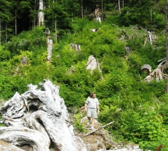 Hiking is one of my favorite things to do in Ketchikan