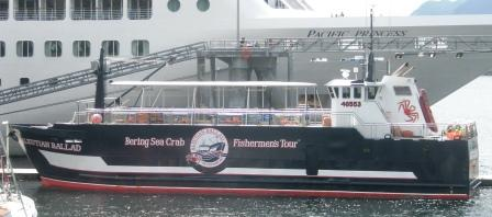 The Aleutian Ballard on Ketchikan's Bering Sea Crab Fisherman's Tour