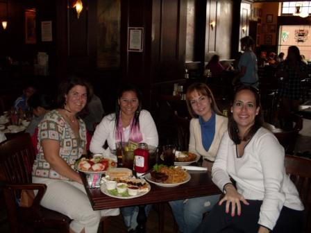 Rene & friends at the best Ketchikan Alaska restaurants - Annabelles Restaurant!