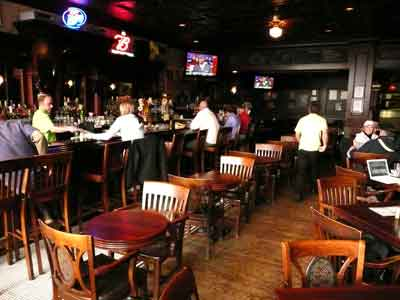Annabelles Restaurant in the Gilmore Hotel Ketchikan, AK on the bar-side