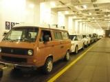 Our VW Westfalia on the Alaska State Ferry