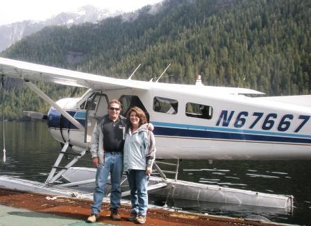 Flightseeing in Ketchikan Alaska