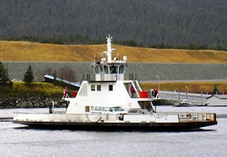 The Ketchikan Airport Ferry will get you to Ketchikan from the airport