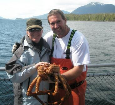 Alaska King Crab on the Bering Sea Crab Fishermans Tour in Ketchikan