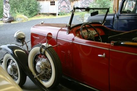 The Antique Car Museum is just one of the Ketchikan Alaska attractions at Potlatch Park