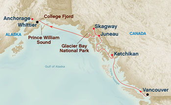 Alaska Princess Cruise options