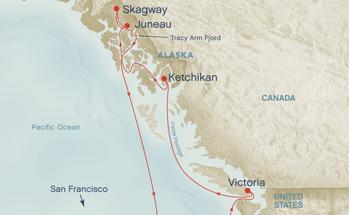 More Alaska Princess Cruise options