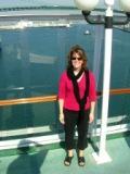 Rene on a Norwegian Cruise Alaska