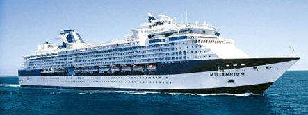 Take a Celebrity Alaska Cruise aboard the Celebrity Millennium Cruise Ship