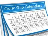 Alaska Cruise Ship Calendars