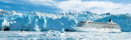 The Crystal Symphony cruise ship for a Crystal Cruise Alaska