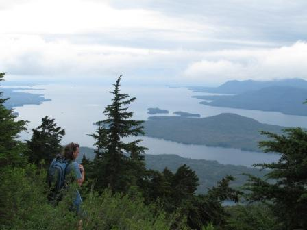 Another gorgeous alpine view from the Deer Mountain Trail in Ketchikan
