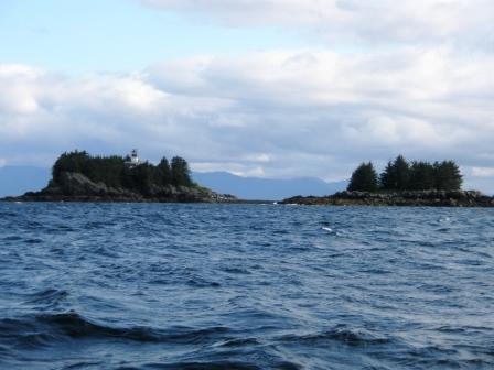 Guard Island in Ketchikan Alaska on halibut fishing tips