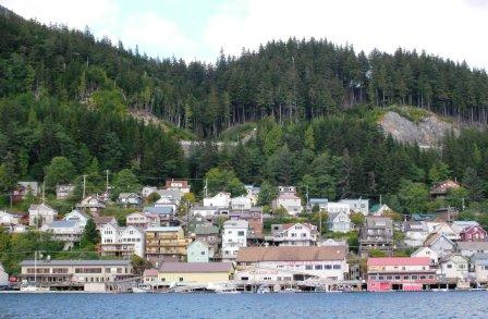 The City of Ketchikan from the water