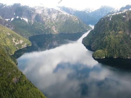 Flightseeing in the Misty Fjords in Ketchikan