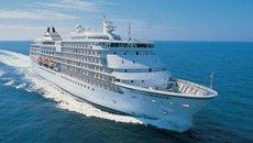The Seven Seas Navigator cruise ship during a Regent Seven Seas Alaska cruise