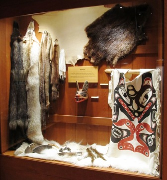 Inside the Southeast Alaska Discovery Center in Ketchikan Alaska