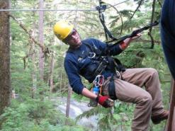Ziplines in Ketchikan Alaska are one of the most popular Alaska tours