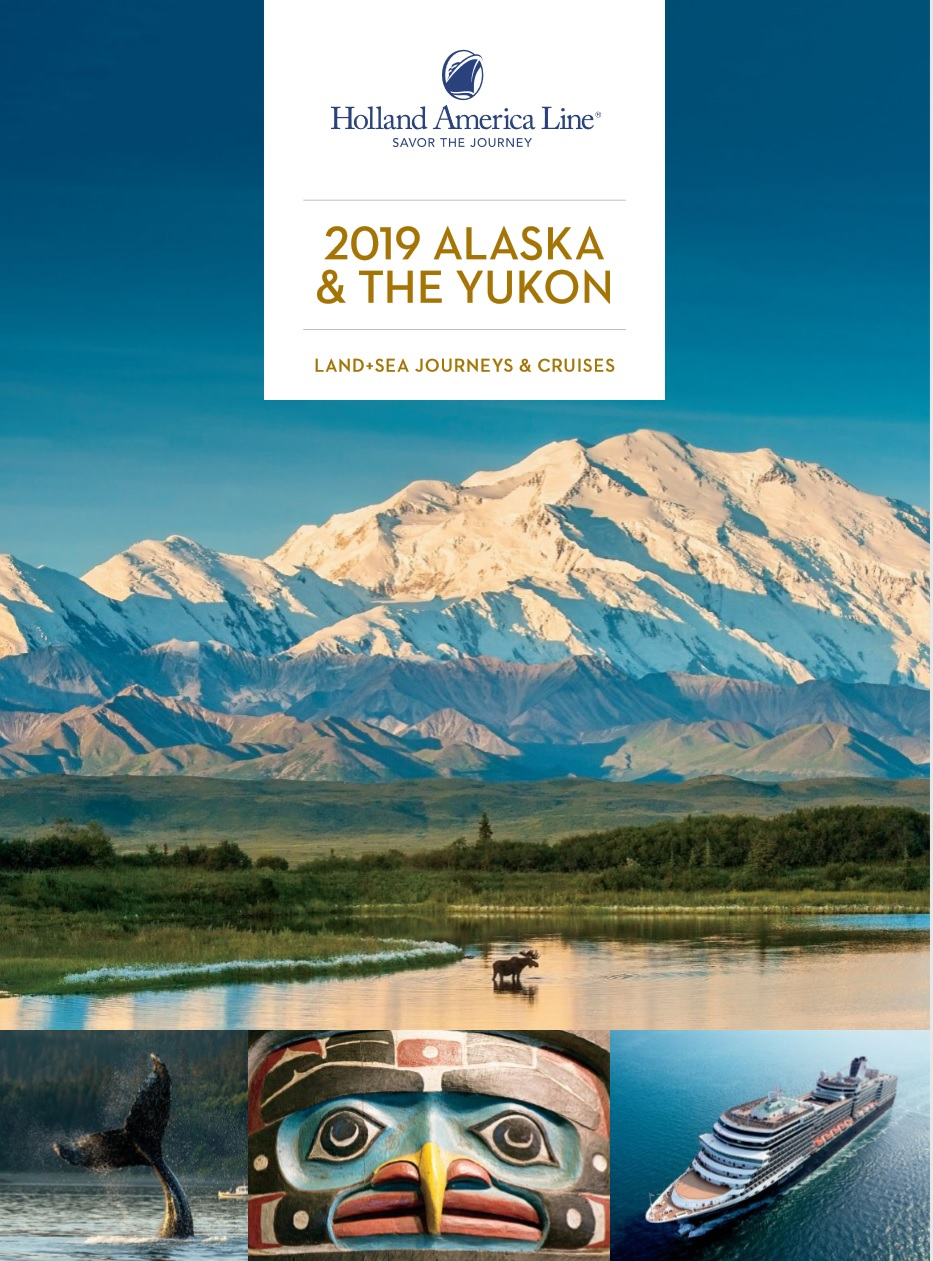 Holland America Cruise Alaska eBrochure for a Ketchikan Cruise