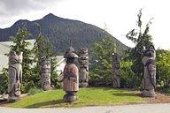 One Alaska Native Art piece, the Chief Kyan totem pole in Ketchikan Alaska