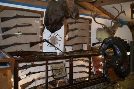 The Antique Firearm Museum is just one of the Ketchikan Alaska attractions at Potlatch Park