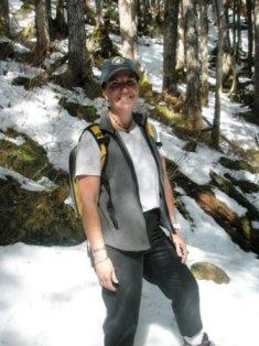 Snow on Deer Mountain in Ketchikan